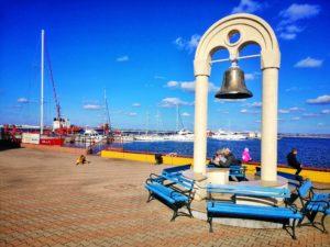 ウクライナの港